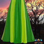 """Одежда ручной работы. Ярмарка Мастеров - ручная работа юбка для осени """"Ирландия"""" из  джерси. Handmade."""