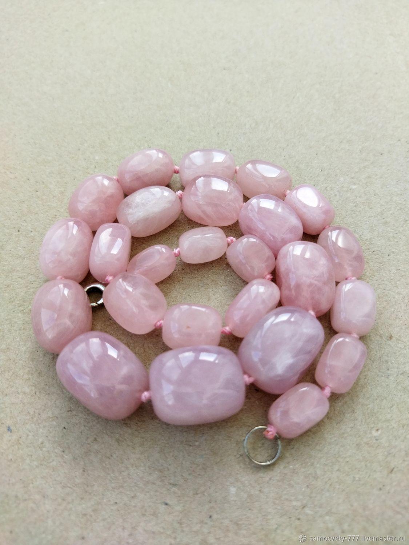 Beautiful beads'Rose quartz', Beads2, Feodosia,  Фото №1