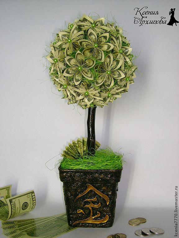 Дерево из денег купить