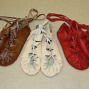 Обувь ручной работы. Ярмарка Мастеров - ручная работа ПОРШИ.  Модель 1 (без каблука). Handmade.