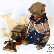 Куклы и игрушки handmade. Livemaster - original item Bear Willy. Handmade.