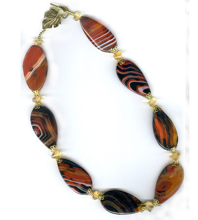 Necklaces & Beads handmade. Livemaster - handmade. Buy Beads with carnelian and citrines.Beautiful beads