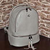 Сумки и аксессуары handmade. Livemaster - original item Model 888 Genuine Leather Backpack Leather Backpack. Handmade.