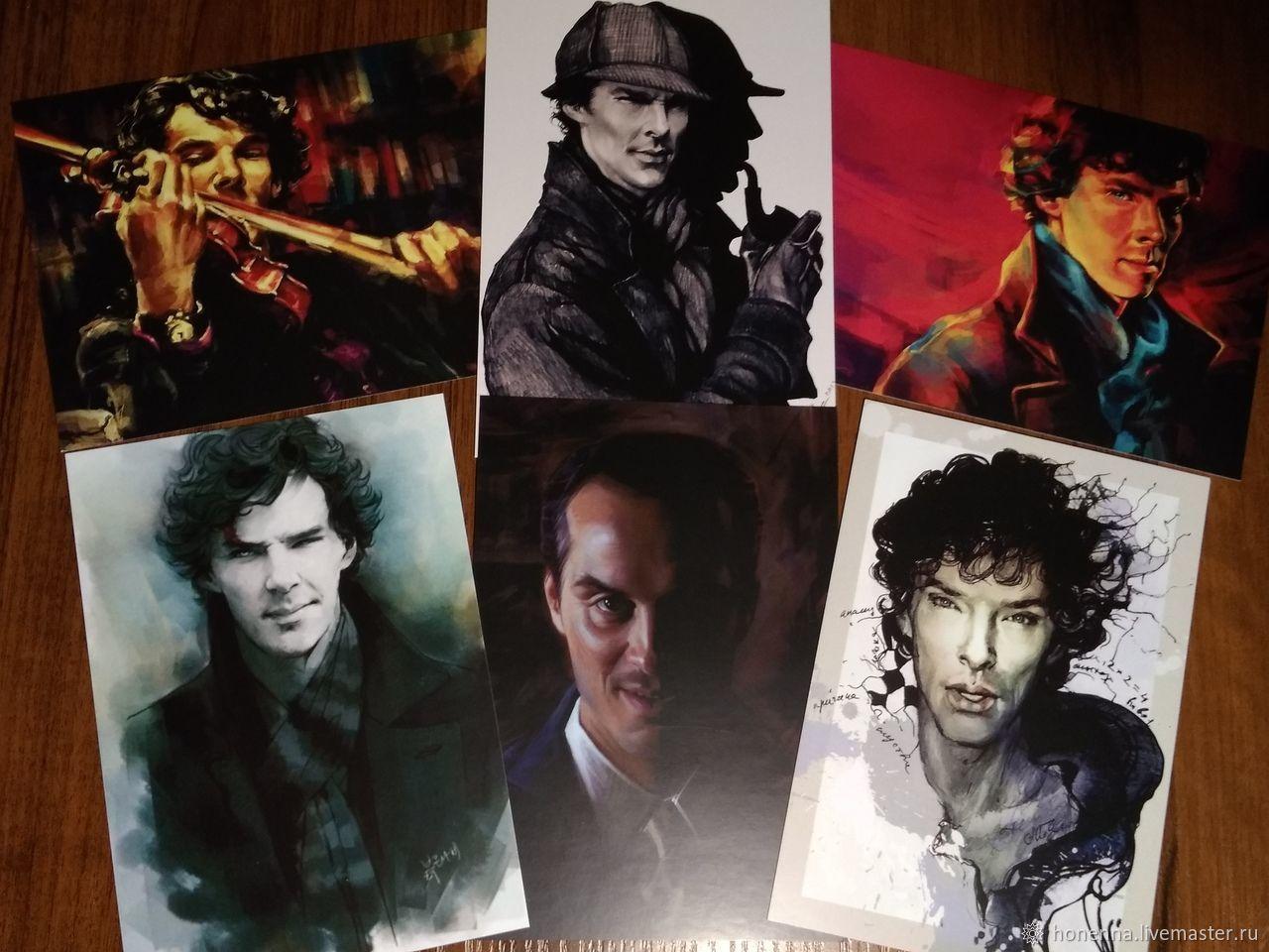 Трудоголики прикольные, почтовые открытки шерлок холмс