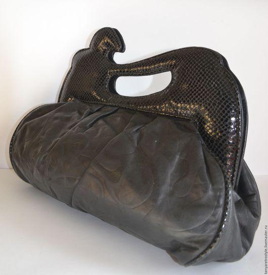 Женские сумки ручной работы. Ярмарка Мастеров - ручная работа. Купить Сумка. Handmade. Черный, 80-е