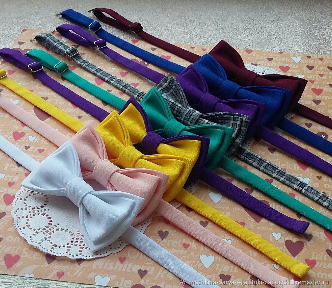 Детские галстуки-бабочки, в ассортименте, Галстуки, Смоленск,  Фото №1