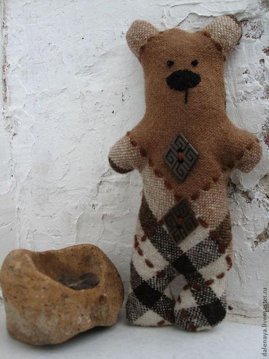 Игрушки животные, ручной работы. Ярмарка Мастеров - ручная работа. Купить мишки из ткани. Handmade. Мишка, мишка ручной работы