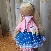 Куклы и игрушки ручной работы. Ярмарка Мастеров - ручная работа Интерьерная текстильная кукла. Handmade.