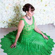 Одежда ручной работы. Ярмарка Мастеров - ручная работа Вечернее платье Яркое лето. Handmade.