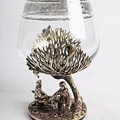 Посуда handmade. Livemaster - original item Glass for cognac