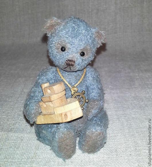 Мишки Тедди ручной работы. Ярмарка Мастеров - ручная работа. Купить Капитоша. Handmade. Мишка тедди, пряжа