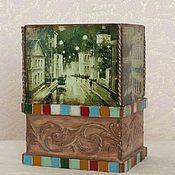 Для дома и интерьера ручной работы. Ярмарка Мастеров - ручная работа Каминная ваза. Handmade.