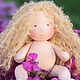 Июлька 14 см. Вальдорфская кукла.Julia Solarrain (SolarDolls) Ярмарка Мастеров