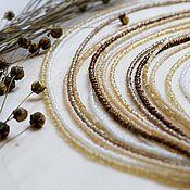"""Украшения ручной работы. Ярмарка Мастеров - ручная работа Колье """"Золото осени"""". Handmade."""