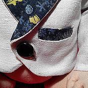 Куклы и игрушки ручной работы. Ярмарка Мастеров - ручная работа Готовый пиджачок для куклы или мишки. Handmade.