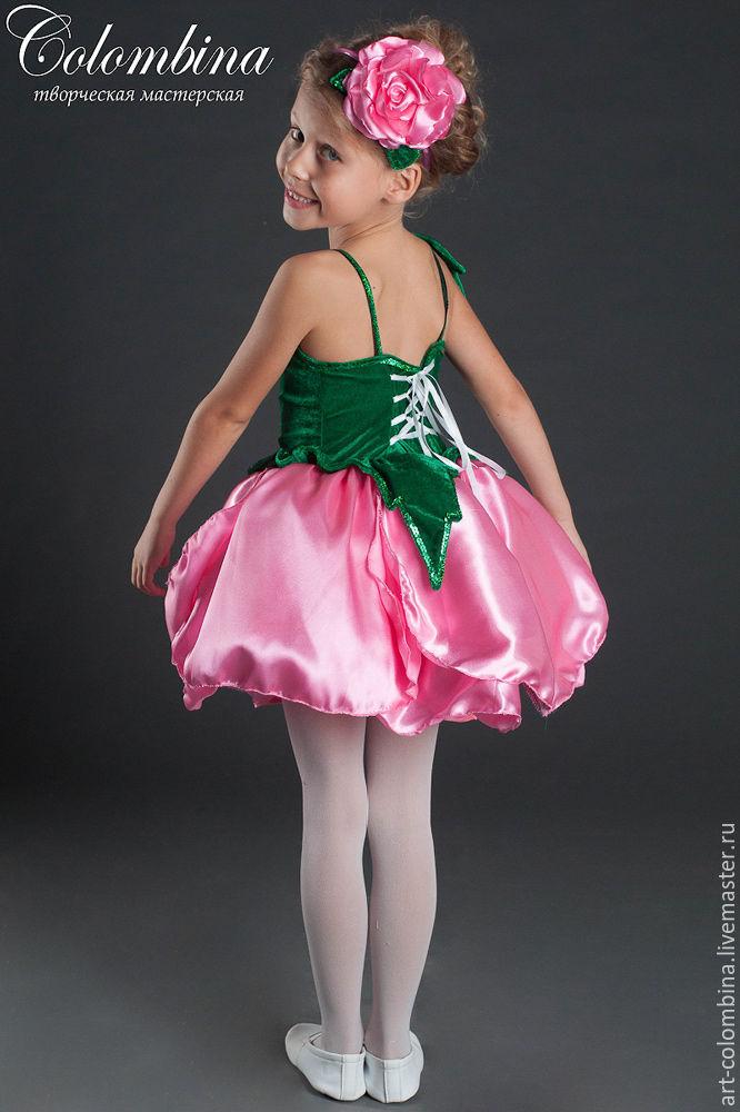 Костюм цветок для девочки мастер класс