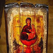 """Картины и панно ручной работы. Ярмарка Мастеров - ручная работа Икона Богородицы """"Животворящий источник"""". Handmade."""