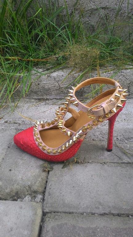 Обувь ручной работы. Ярмарка Мастеров - ручная работа. Купить туфли из кожи питона. Handmade. Туфли из питона, обувь из питона
