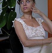 """Одежда ручной работы. Ярмарка Мастеров - ручная работа Платье """"Белой черёмухи гроздья душистые..."""". Handmade."""