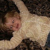 """Работы для детей, ручной работы. Ярмарка Мастеров - ручная работа свитер """" КОСИЧКА """". Handmade."""