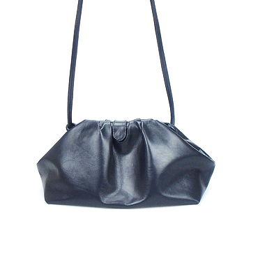 Bags and accessories handmade. Livemaster - original item Bag pelmen leather, bag pyramid, bag bag in the style of Bottega. Handmade.