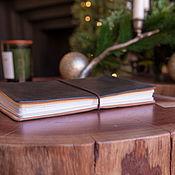 Канцелярские товары handmade. Livemaster - original item Tundra A5 notebook for 4-6 notebooks (21h14,5, cm). Handmade.