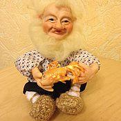 Куклы и пупсы ручной работы. Ярмарка Мастеров - ручная работа Старик и рыбка(24). Handmade.