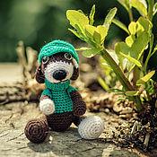 """Куклы и игрушки ручной работы. Ярмарка Мастеров - ручная работа Собачка """"Тотошка"""" Вязаная игрушка. Handmade."""