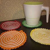 Для дома и интерьера handmade. Livemaster - original item Coasters