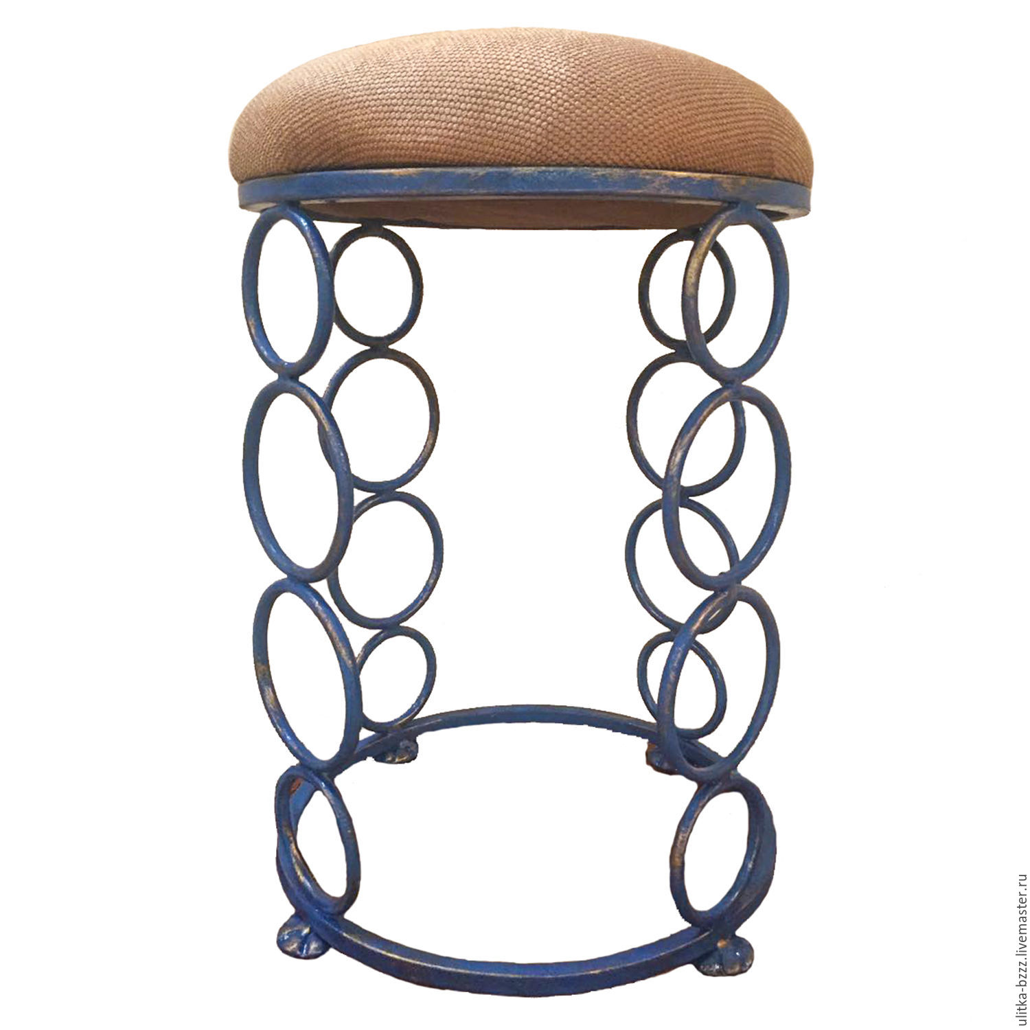 Stool forged 'Circles', Stools, Moscow,  Фото №1