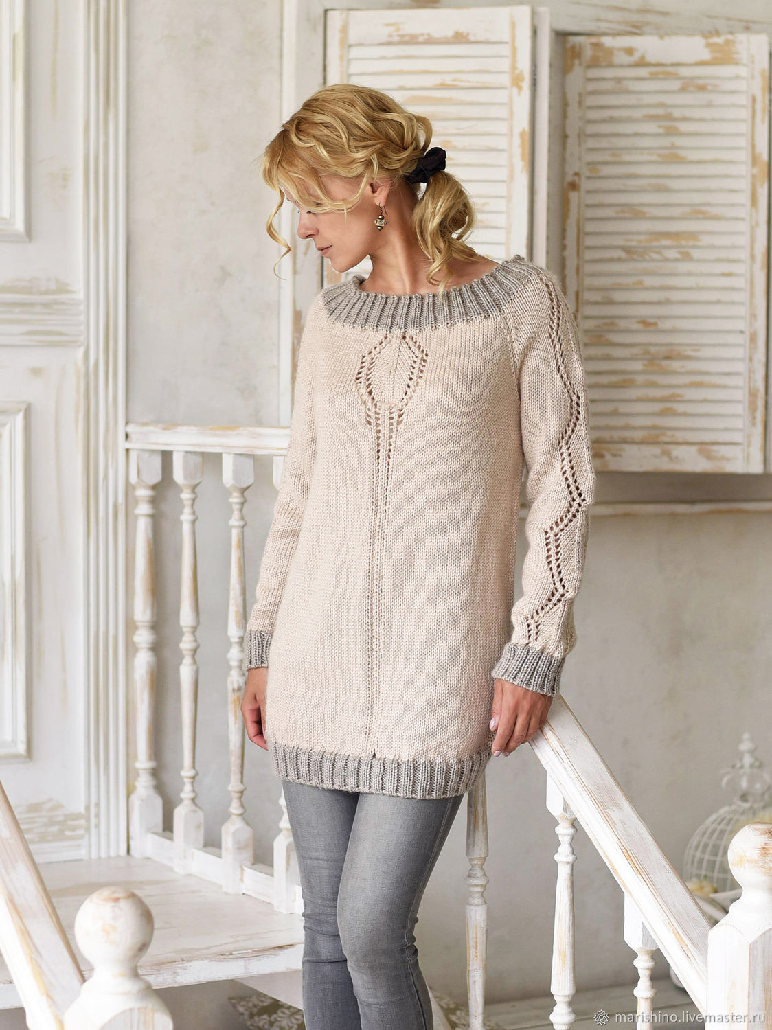 Knitted Calypso jumper dress made of cashmere, Jumpers, Chelyabinsk,  Фото №1