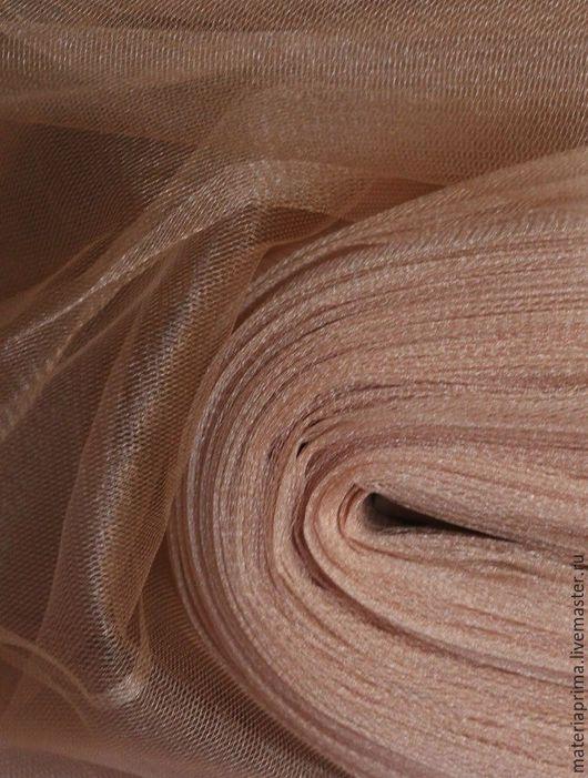 """Шитье ручной работы. Ярмарка Мастеров - ручная работа. Купить фатин """"капуччино"""". Handmade. Фатин песочный, фатин ткань"""