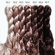 Нитки ручной работы. Ярмарка Мастеров - ручная работа Шёлковые нитки для вышивки, 100% шелк. Handmade.