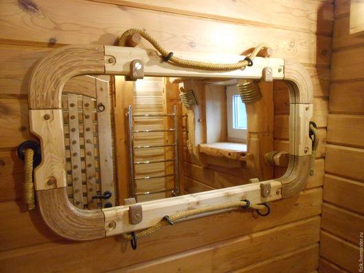 Зеркала ручной работы. Ярмарка Мастеров - ручная работа. Купить Рама для зеркала. Handmade. Море, палуба, яхта, дизайн, зеркало