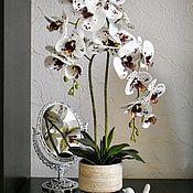 Композиции ручной работы. Ярмарка Мастеров - ручная работа Имитация орхидеи фаленопсис 2 веточки. Handmade.