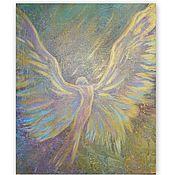 Картины и панно handmade. Livemaster - original item The picture with the angel