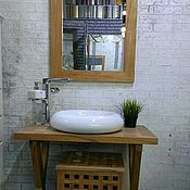 Для дома и интерьера handmade. Livemaster - original item A set of furniture for the bathroom in ECO-style. Handmade.