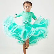 Работы для детей, handmade. Livemaster - original item Juvenal (basic) ballroom dress TIFFANI. Handmade.