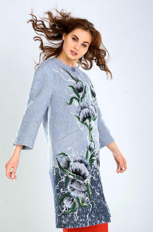 Верхняя одежда ручной работы. Ярмарка Мастеров - ручная работа. Купить ПС (2) 05. Handmade. Цветочный, стильные вещи