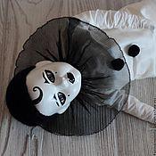 Куклы и игрушки ручной работы. Ярмарка Мастеров - ручная работа Пьеро. Кабинетная кукла. Handmade.