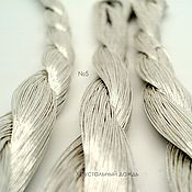 №5 Японские нитки, серебряные