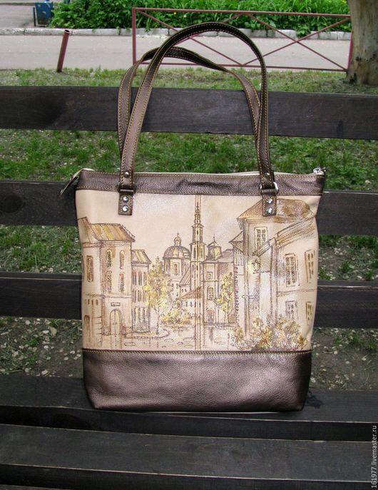 Женские сумки ручной работы. Ярмарка Мастеров - ручная работа. Купить Роспись кожаных сумочек. Handmade. Комбинированный, лак