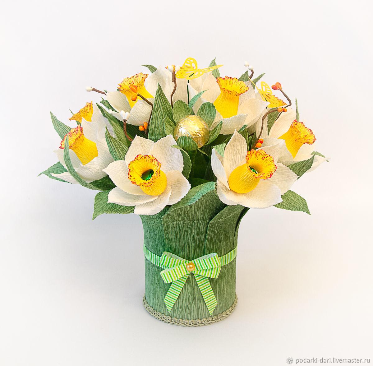 Букет нарциссы с доставка москва, купить цветы оптом в челябинске дешево