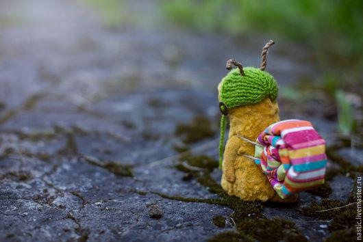 Мишки Тедди ручной работы. Ярмарка Мастеров - ручная работа. Купить ушел искать лето.... Handmade. Бежевый, авторская работа