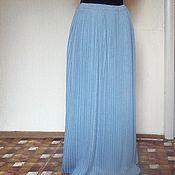 Одежда ручной работы. Ярмарка Мастеров - ручная работа плиссированная юбка в пол. Handmade.