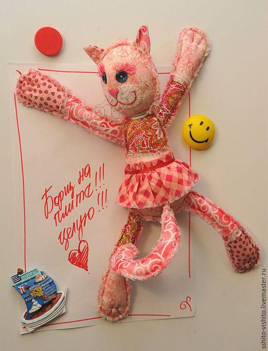 Куклы и игрушки ручной работы. Ярмарка Мастеров - ручная работа. Купить Набор для шитья игрушки Кошечка. Handmade. Бледно-розовый