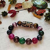 Украшения handmade. Livemaster - original item A bracelet made of beads: Bright charm bracelet