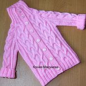 Работы для детей, handmade. Livemaster - original item Jacket for girls. Handmade.