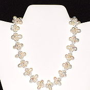 Necklace handmade. Livemaster - original item Necklace of natural pearls. Handmade.