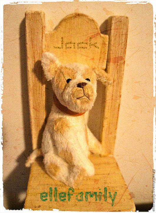 Мишки Тедди ручной работы. Ярмарка Мастеров - ручная работа. Купить Собачка Джек  Тедди выкройка. Handmade. Белый